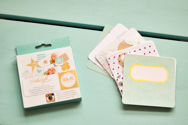 Kit de journaling pour album Project Life carré de We R Memory Keepers - Blog lifestyle fan de papeterie Birds & Bicycles
