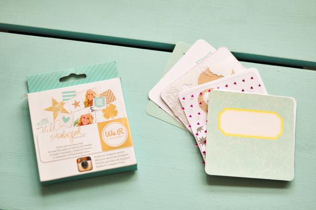 Kit de journaling pour album Project Life carré de We R Memory Keepers - Blog lifestyle fan de papeterie Birds & Bicycles