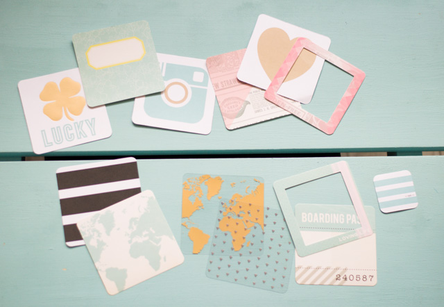 Kit de journaling pour album Project Life carré de We R Memory Keepers