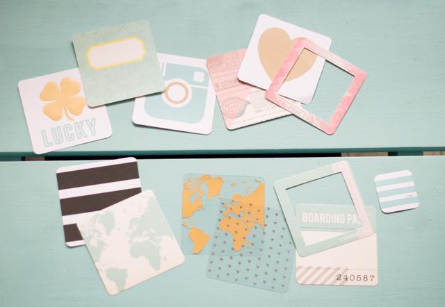 Kit de journaling pour album Project Life carré de We R Memory Keepers