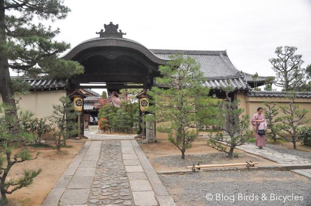 Voyage au Japon - Daitokuji - sanctuaire de temples à Kyoto.