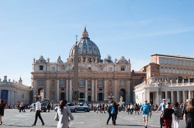 Escapade à Rome: une journée au Vatican! Images et bons plans sur le blog Birds & Bicycles