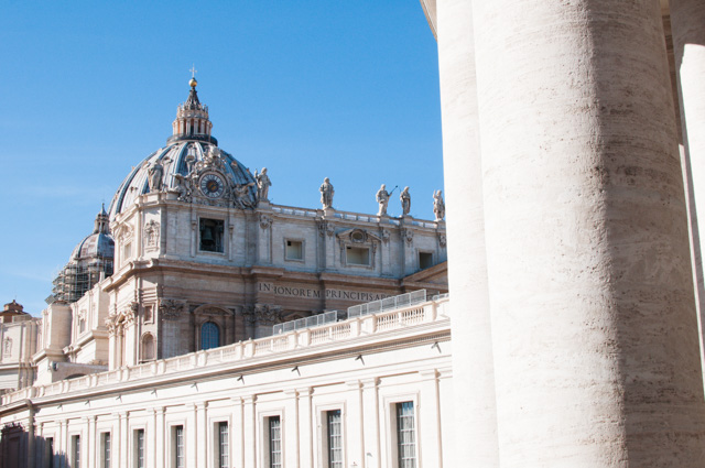 La Basilique Saint-Pierre au Vatican -Que voir à Rome en un week-end