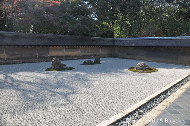 Jardins de pierre à Kyoto: le ryoan-ji, un incontournable