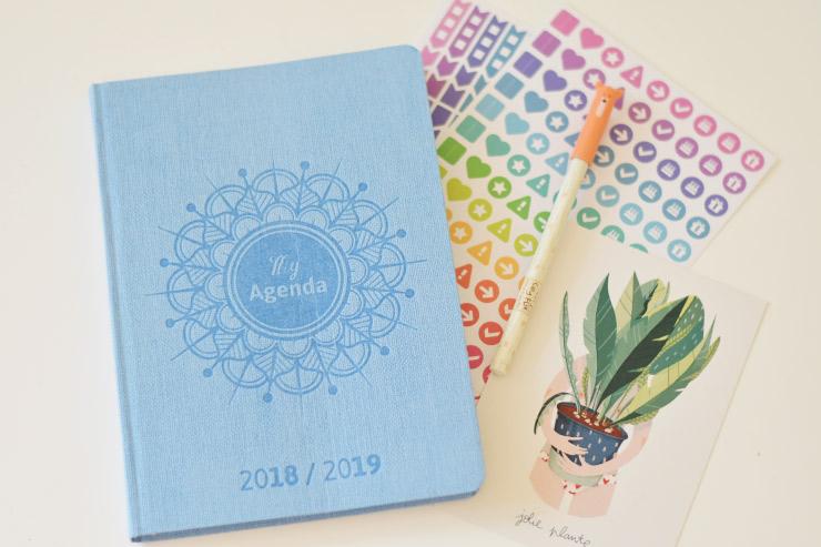Agenda 2018-2019 My 365 - Ma sélection de jolis agendas pour la rentrée - Crédit photo: Birds & Bicycles