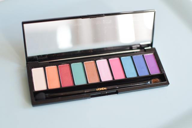 Blog maquillage - palette - des couleurs sur les yeux