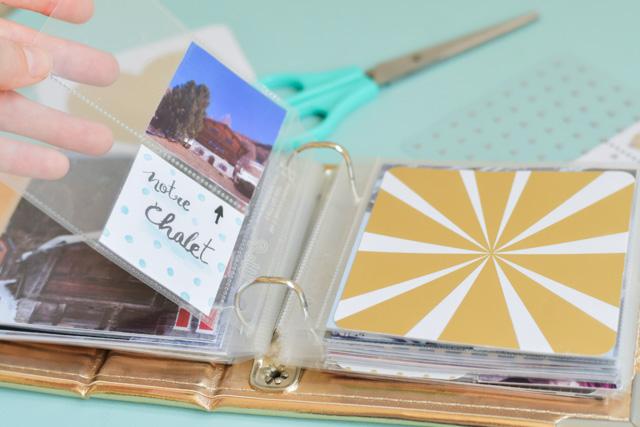 Album Project Life: je vous montre mes essais de scrapbooking sur le blog!