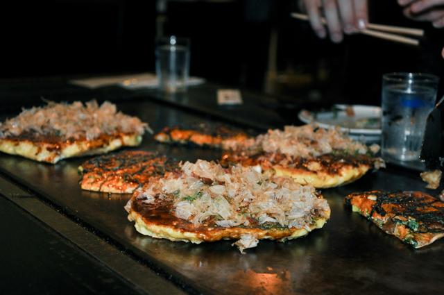 Okonomiyaki - crêpe japonaise