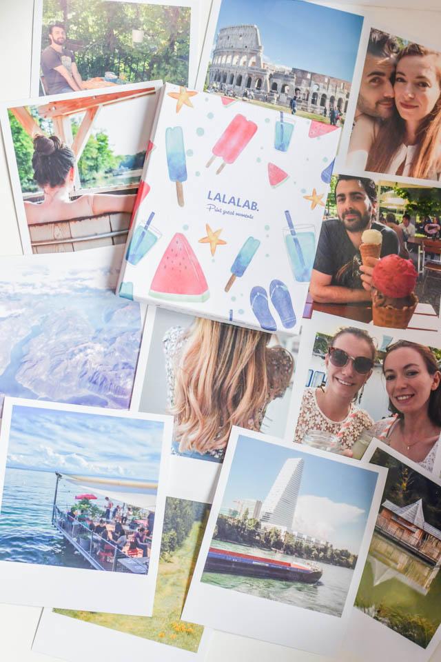 """Mes photos """"polaroid"""" imprimées sur lalalab"""