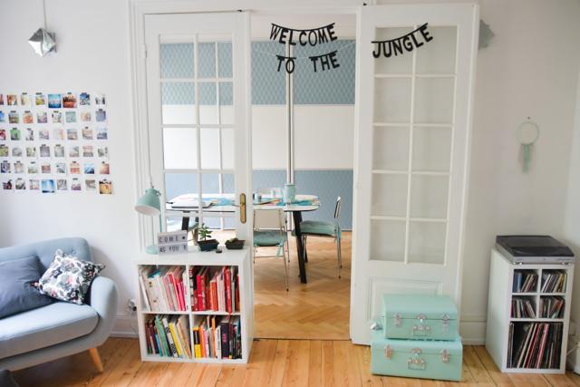 Un bout de mon salon et ma salle à manger! Blog lifestyle et déco Birds & Bicycles