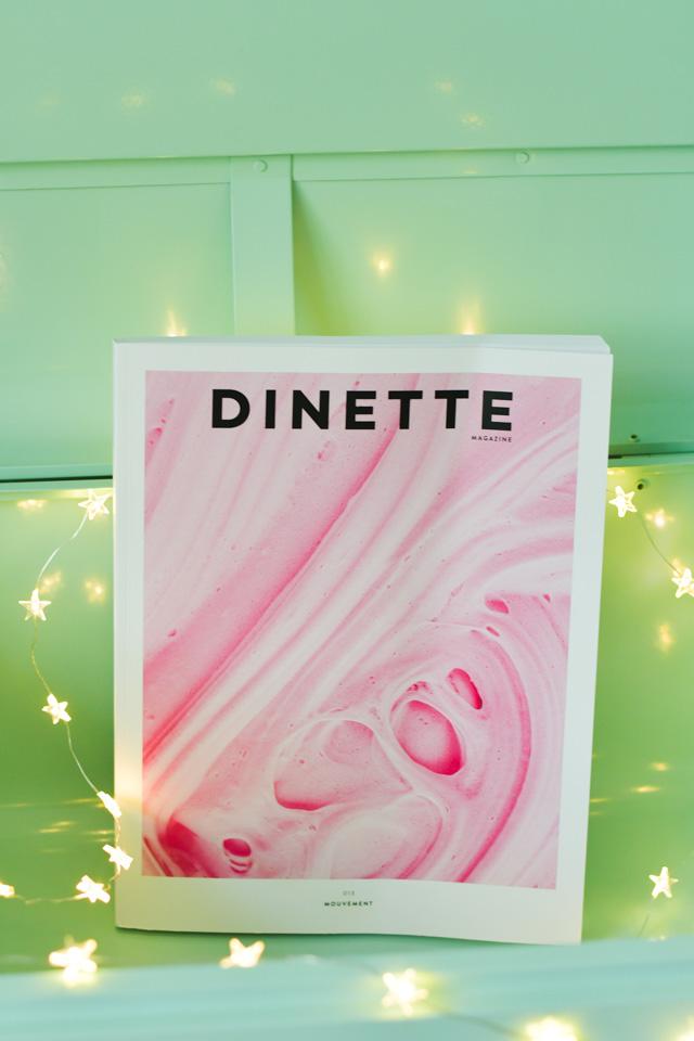 Découverte du magazine québécois Dinette !