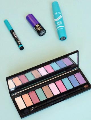 Blog girly: Oser des couleurs sur mes yeux: mes pistes pour un maquillage avec une touche de couleur