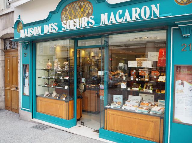 Adresse Nancy - Soeurs Macarons - Patisserie