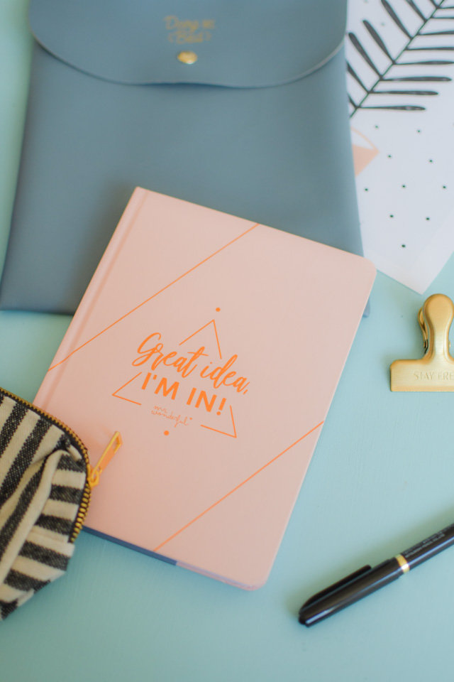 Accessoires de papeterie de Mr Wonderful