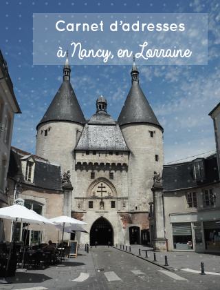 Mes bonnes adresses à Nancy en Lorraine - Carnet d'adresses sur le blog Birds & Bicycles