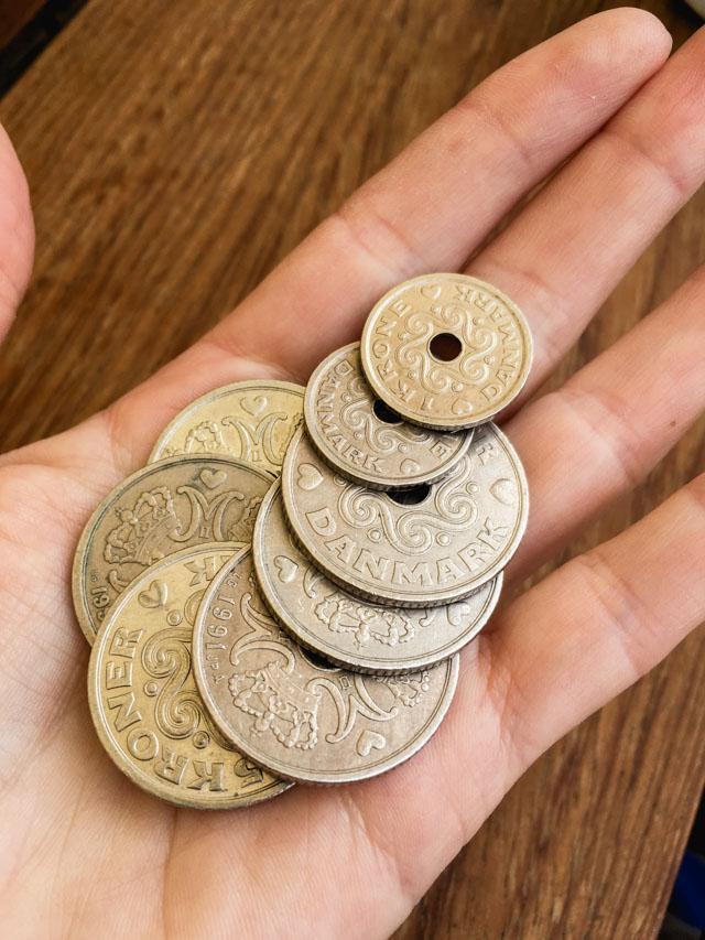 Les couronnes danoises: la monnaie! Voyage au Danemark sur le blog Birds & Bicycles