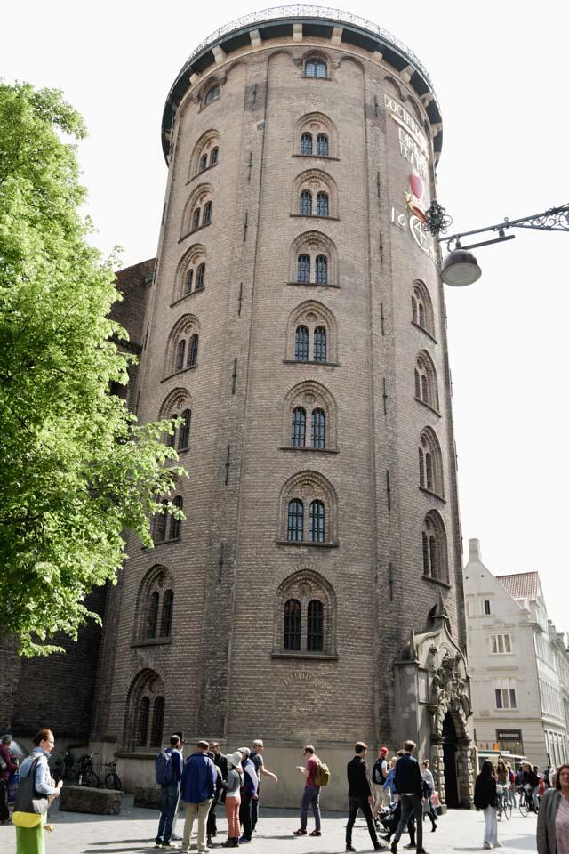 La Rundetarn, la tour ronde à Copenhague