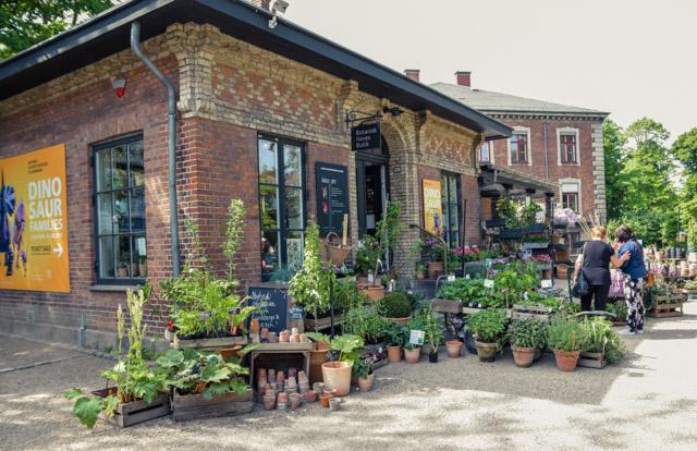 Le Jardin botanique de Copenhague, un havre de paix...