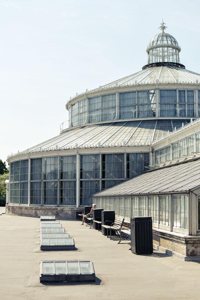 Les serres du jardin botanique de Copenhague