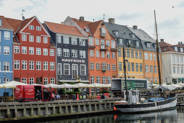 Le Vieux Port de Copenhague et ses façades colorées