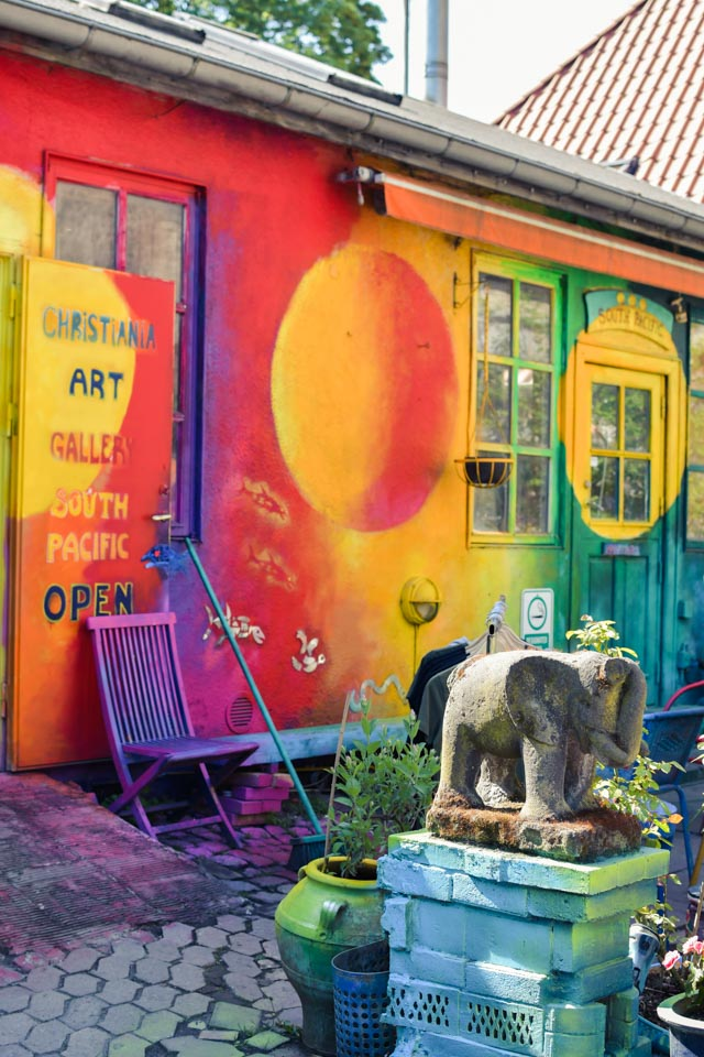 Le quartier de Christiania, commune libre