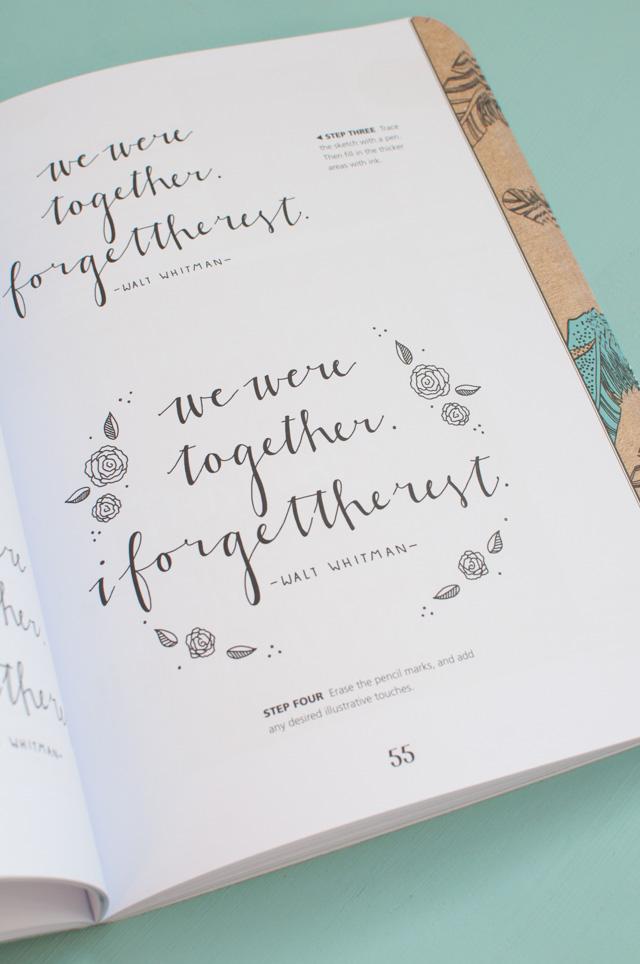 Livres de calligraphie moderne: ma sélection