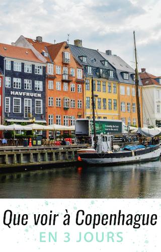Que voir à Copenhague en trois jours? Mon programme pour un super week-end sur le blog!