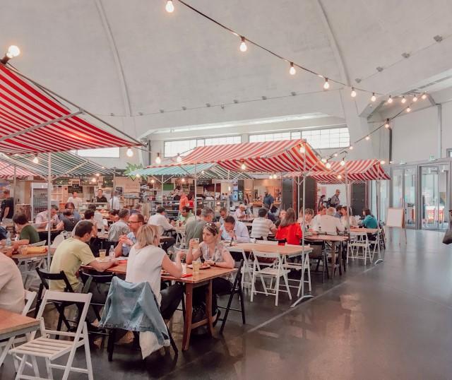 Mes bonnes adresses à Bâle: Les Markhalle, un incontournable à Bâle (Street food)