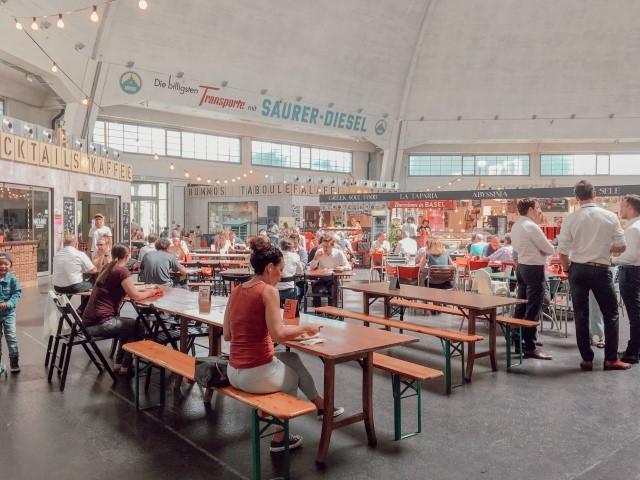 Les Markhalle, un incontournable à Bâle (Street food)
