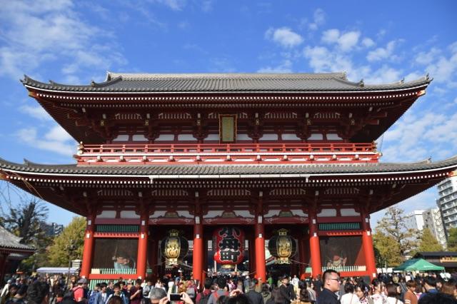 Asakusa - Grand Temple - Tokyo - Voyage au Japon sur le blog