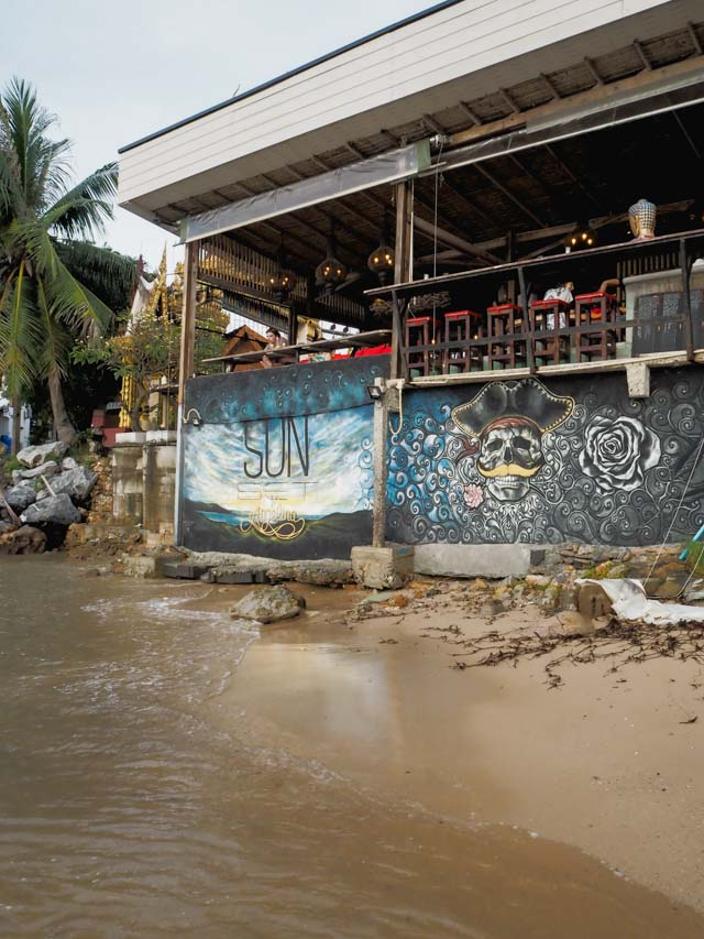 Sunset by Angelina - bar de rêve sur l'île de Koh Samui en Thaïlande