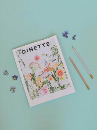 Beau magazine québécois: Dinette, avec des recettes et des reportages