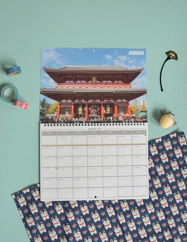 DIY: imprimer son calendrier de voyage en ligne avec ses photos