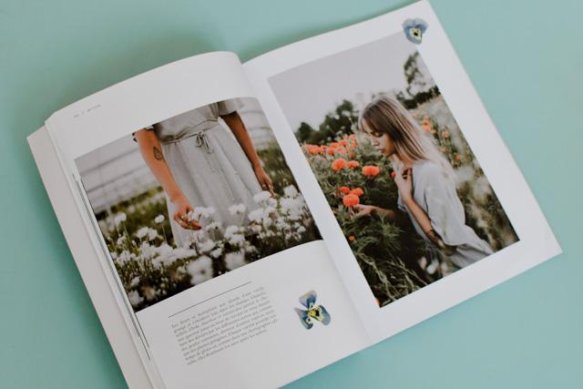Reportages & recettes québécoises dans Dinette magazine .-disponible en France et en Suisse
