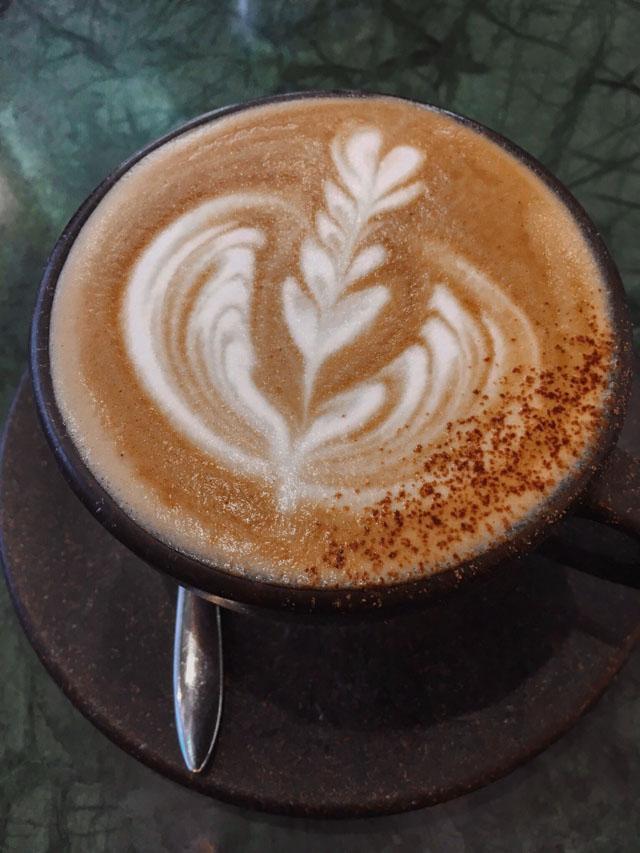 Latte art - Pause café