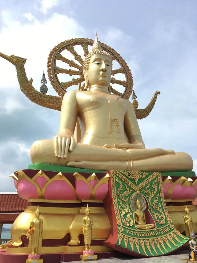 Big Buddha sur Koh Samui - Temple thaïlandais