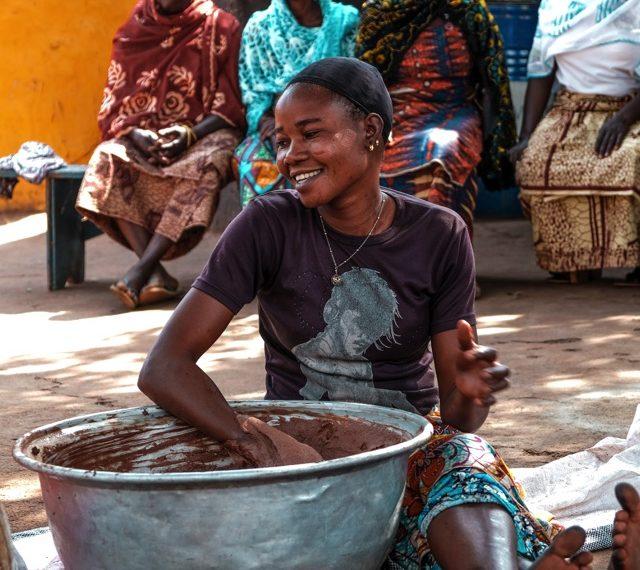 Production artisanale du karité au Ghana, commerce équitable