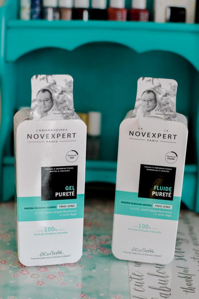Novexpert: test de la gamme trio zinc! Cosmétique naturelle et made in France