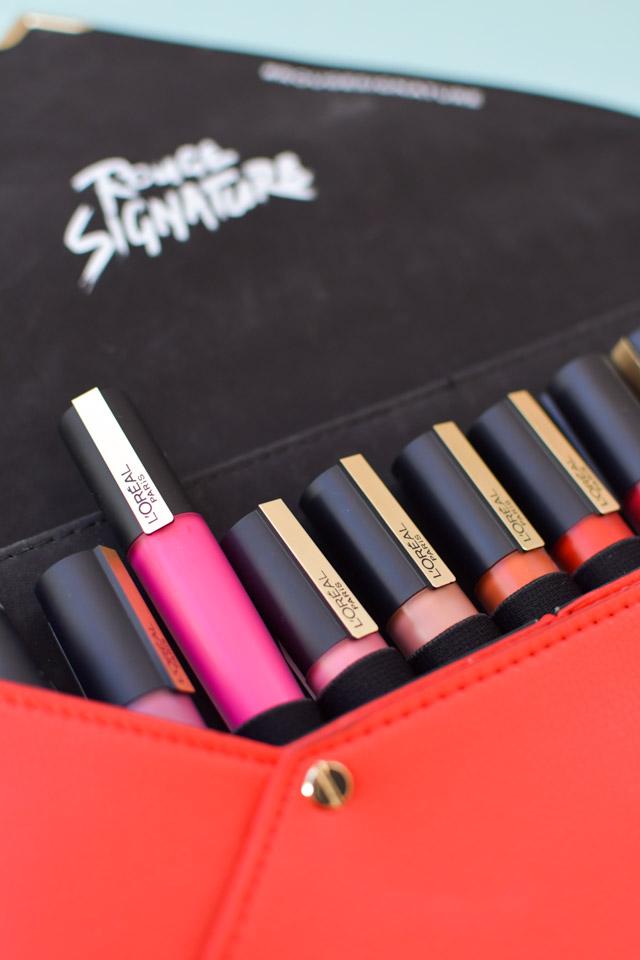 Encre à lèvres Rouge Signature : favoris make-up 2019