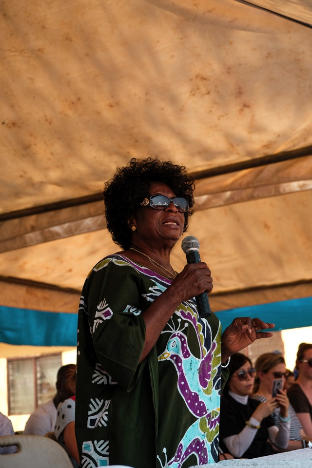 Madam Fati Paul - Tungteiya Womens' association