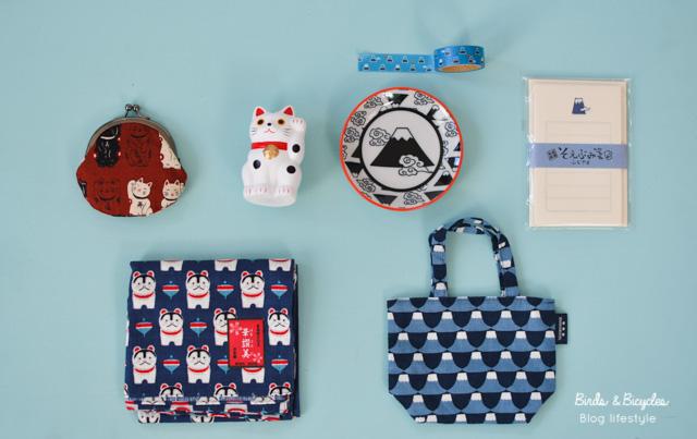 Des jolies choses à ramener du Japon - mon shopping à Tokyo sur le blog!