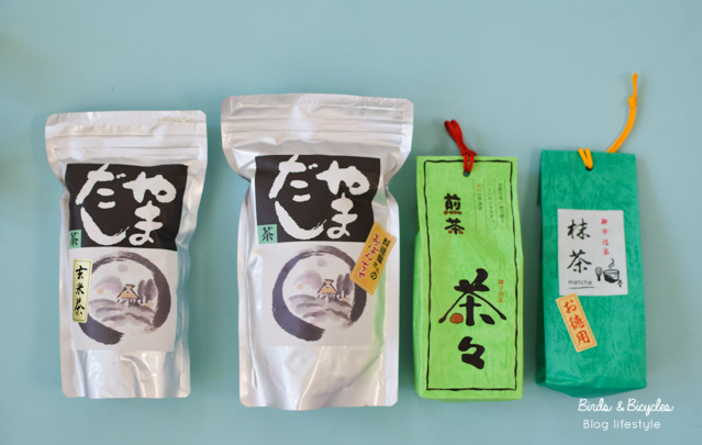 Du thé japonais - Ce que j'ai ramené du Japon - Sur le blog lifestyle et voyage Birds & Biycles