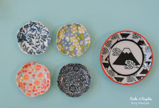 Petites assiettes japonaises