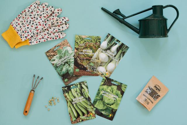 Jardinage urbain: je prépare mes plantations sur le blog Birds & Bicycles