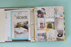 Album Storyline d'Heidi Swapp: j'ai terminé mon project life!