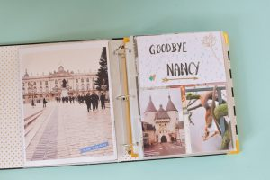Ma page sur Nancy - scrapbooking