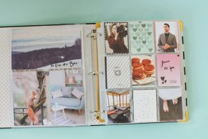 Kantutita fait du scrapbooking sur son blog Birds & Bicycles