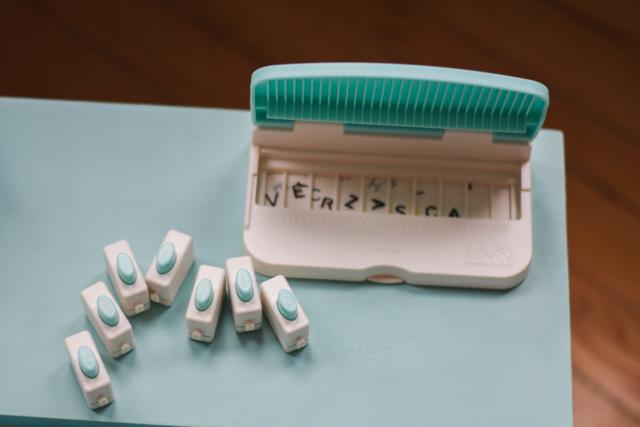 Test scrapbooking - Le Punch board à mots de We R Memory Keepers