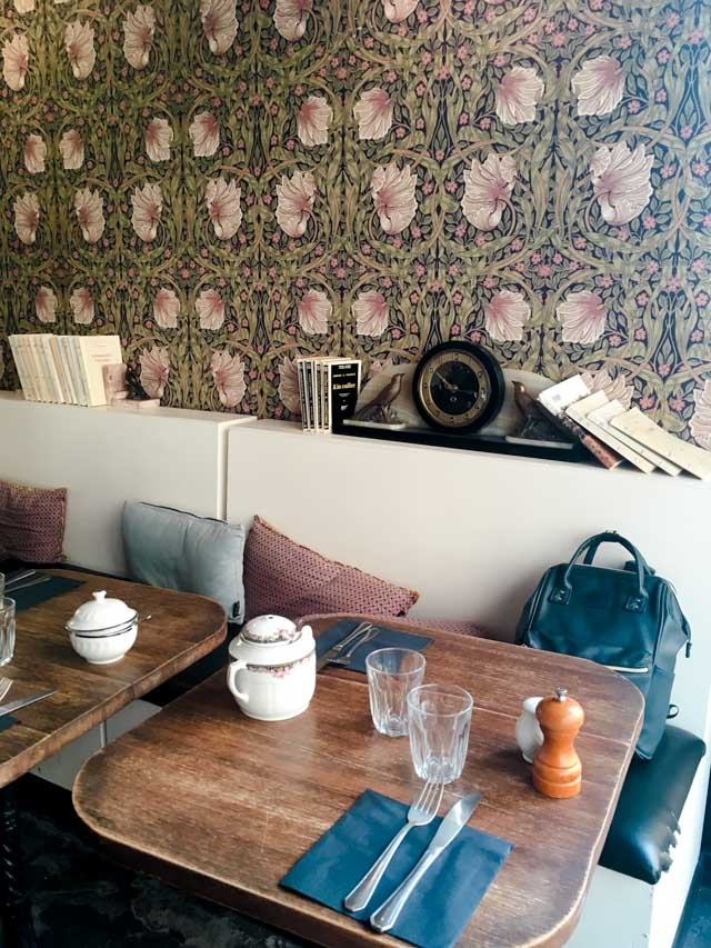 Bonne adresse à Paris: Le café la chambre aux oiseaux à Paris