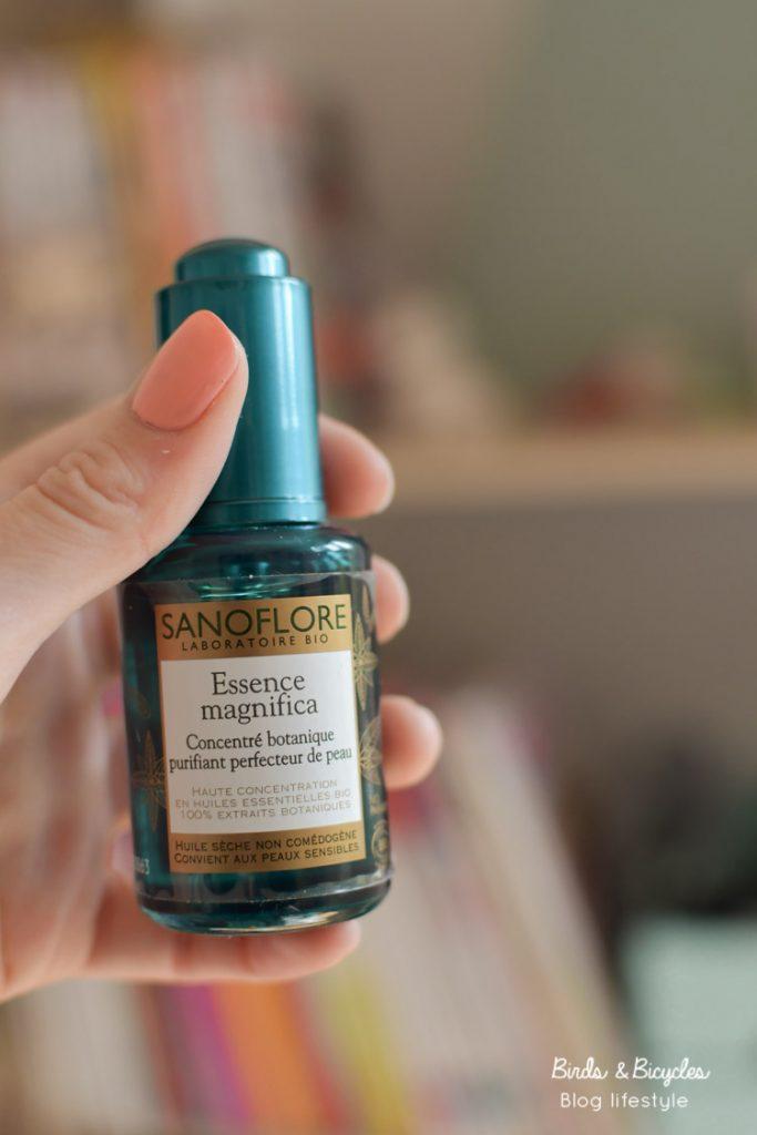 Essence Magnifica de Sanoflore: coup de coeur pour ce soin bio pour les peaux à imperfections